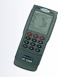 【直送品】 ホダカ (HODAKA) ポータブル燃焼排ガス分析計 HT-2300E Eセット