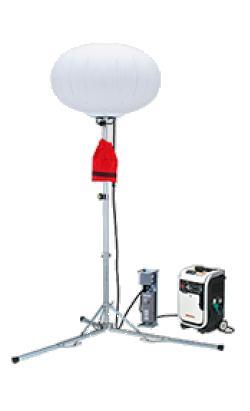 【代引不可】 ホンダ (HONDA) メタルハライド400W投光機 三脚式 11720(60Hz) (11720) 《バルーン投光機》 【送料別】