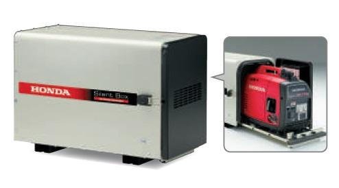 吸音材と防音構造により、発電機からの音を低減!  【直送品】 ホンダ EU18i用防音ボックス 11909 《発電機関連商品》 【大型】