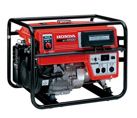 【直送品】 ホンダ (HONDA) 三相発電機 ET4500 J1 (50Hz仕様) (ET4500K2J1) 【法人向け、個人宅配送不可】 【送料別】