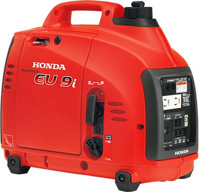 電気があるから、仕事もはかどる、遊びもひろがる!  ホンダ (HONDA) 正弦波インバーター搭載発電機 EU9i JN1 (EU9IT1JN1) 【送料別】