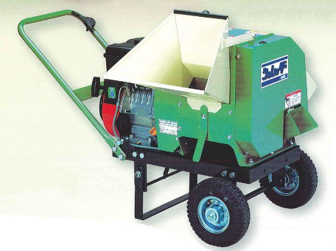 【直送品】 本宏製作所 (HONKO) シュレッダー HK-35SA (手押車輪型)【法人向、個人宅配送不可】《農林業機器》 【特大・送料別】