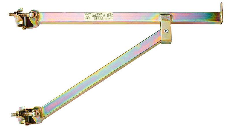 【直送品】 本宏製作所 (HONKO) 簡易ブラケット KB-500 (5本入り)【法人向、個人宅配送不可】《建築作業機器》 【送料別】