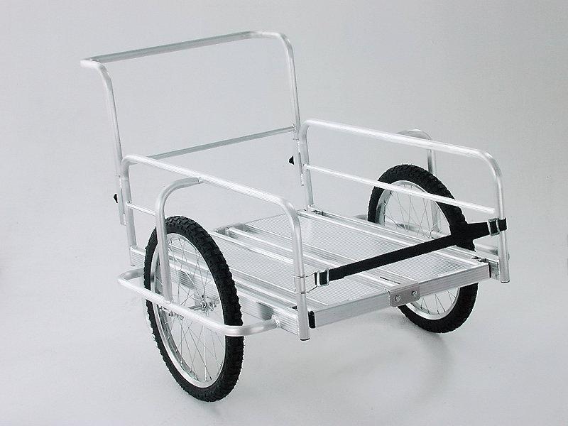 【直送品】 本宏製作所 (HONKO) アルミ製折りたたみリヤカー  OR-10 【法人向、個人宅配送不可】《農林業機器》 【特大・送料別】