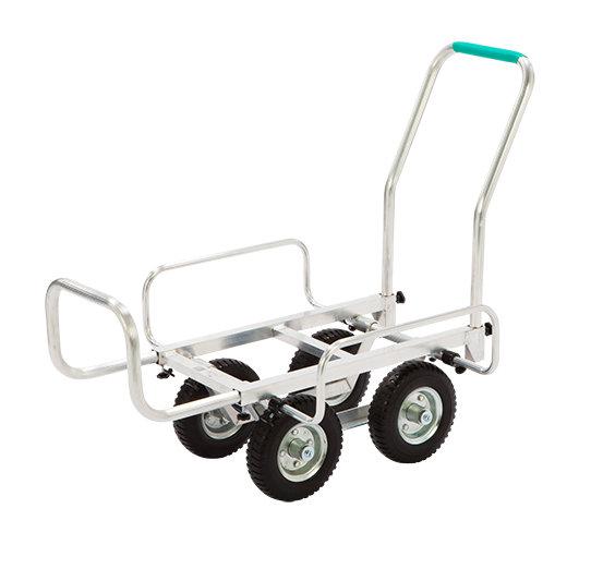 【直送品】 本宏製作所 (HONKO) アルミ製ハウスカー伸縮式 SHC-3NP 【法人向、個人宅配送不可】《農林業機器》 【送料別】