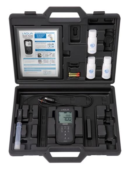 堀場製作所 フィールド型ポータブル水質計 D-210 pHセット (D-210P-S) (キャリングケース付)
