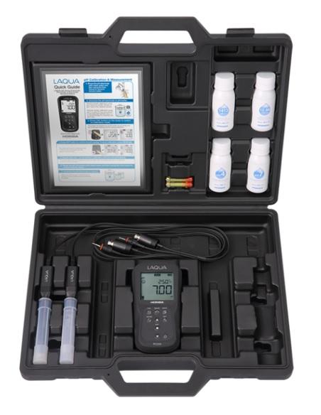 【完売】  D-220 pH・CONDセット (D-220PC-S) 堀場製作所 (キャリングケース付):道具屋さん店 フィールド型ポータブル水質計 【ポイント5倍】-DIY・工具