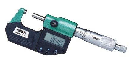 INSIZE デジタル外側マイクロメータ 3108-100A