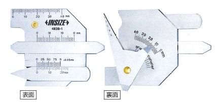 溶接ゲージ 4838-1 INSIZEINSIZE 溶接ゲージ 4838-1, 大きいサイズの専門店ビックリベロ:bb1cecb7 --- sunward.msk.ru