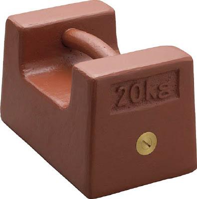 【直送品】 【分銅】 枕型分銅 (鋳鉄) M2RF-20K
