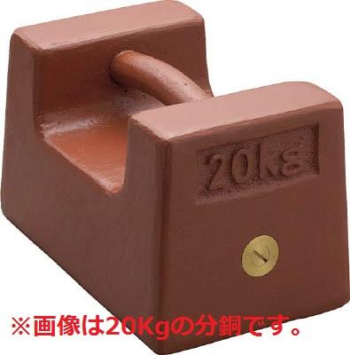 【直送品】 【分銅】 枕型分銅 (鋳鉄) M2RF-5K-JCSS 【送料別】