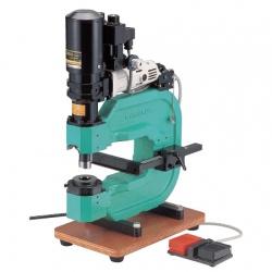 【直送品】 亀倉精機 電動油圧式デスクパンチ GP-3S 〈油圧式 デスクパンチ〉