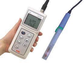 笠原理化工業 (Kasahara) pH水温計 KP-10F (KP10F)
