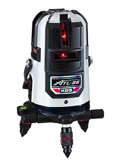 オートラインレーザーシリーズ!  ムラテックKDS 高輝度レーザー墨出器 ATL-96RSA (本体+受光器+三脚)