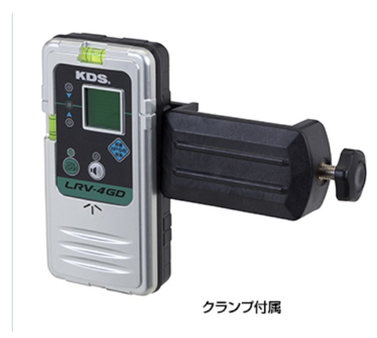 ムラテックKDS 防滴レーザーレシーバー(受光器) LRV-4GD (受光器のみ)