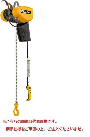 【ポイント10倍】 懸垂形 EQ001IS:道具屋さん店 EQ型電気チェーンブロック 125kg(IS)×4m 【直送品】 キトー-DIY・工具