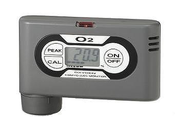 【直送品】 光明理化学 ポケッタブルガスモニタ OPA-5000E (個人装置形/拡散式) 《酸素測定器》