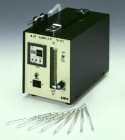 【直送品】 光明理化学 室内汚染測定用エアーサンプラー S-21