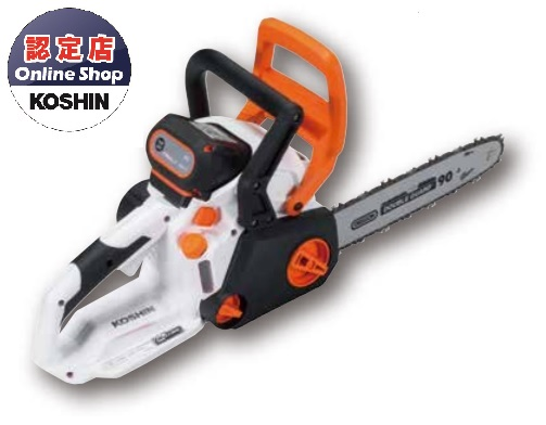 【直送品】 工進 充電式チェンソー SCS-3625 【法人向け、個人宅配送不可】