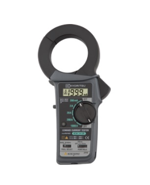共立電気計器 漏れ電流・負荷電流測定用クランプメータ KEW2413R (携帯用ケース付)