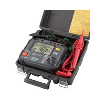 共立電気計器 高圧絶縁抵抗計 KEW3125A (ハードケース付)