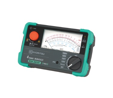 共立電気計器 絶縁抵抗計 KEW3441BT (携帯用ケース付)