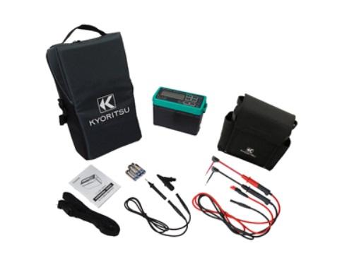 共立電気計器 デジタル絶縁・接地抵抗計 KEW6022LA (携帯用ケース付)