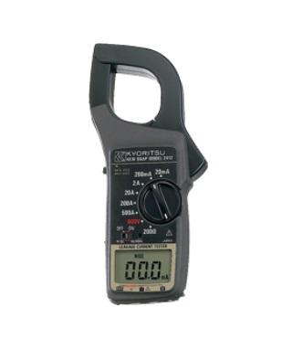 共立電気計器 漏れ電流・負荷電流測定用クランプメータ MODEL2412 (携帯用ケース付)