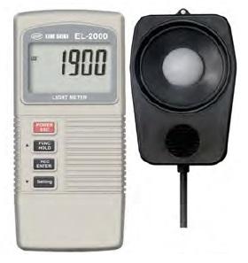 ライン精機 (LINE) デジタル照度計 EL-2000