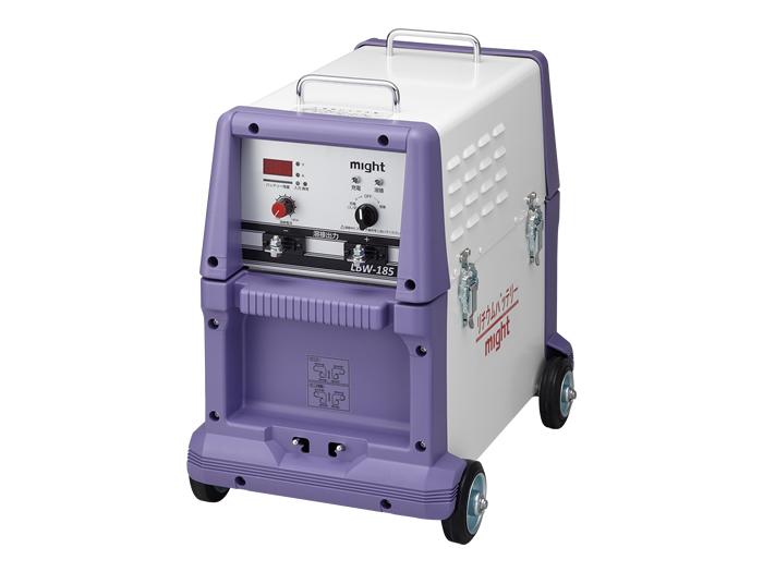 【直送品】 マイト工業 リチウムイオンバッテリー溶接機 LBW-185 【法人向け、個人宅配送不可】
