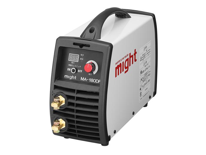 【直送品】 マイト工業 デジタル直流インバーター溶接機 MA-180DF 単相200V【法人向け、個人宅配送不可】
