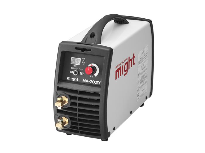 【直送品】 マイト工業 デジタル直流インバーター溶接機 MA-200DF 単相200V【法人向け、個人宅配送不可】