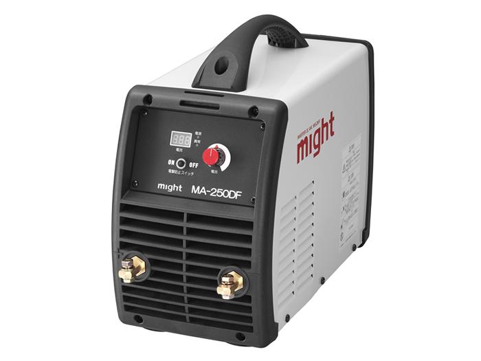 【直送品】 マイト工業 デジタル直流インバーター溶接機 MA-250DF 単相200V【法人向け、個人宅配送不可】