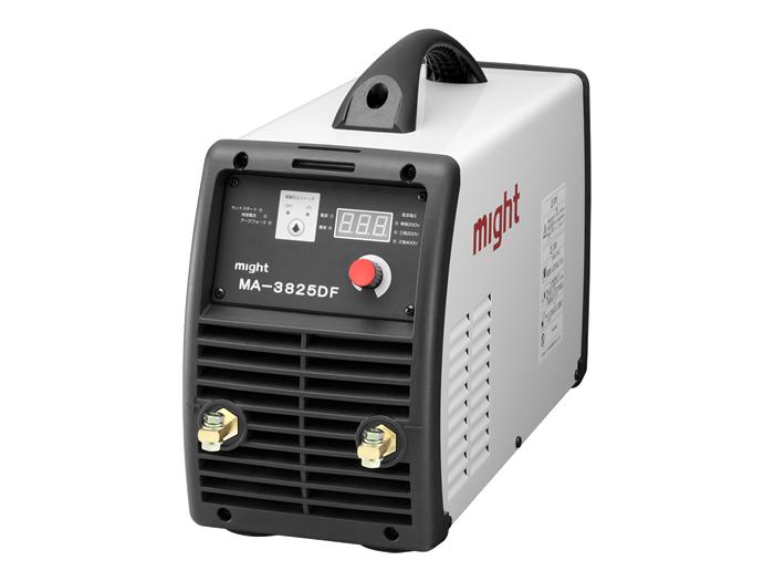 【直送品】 マイト工業 デジタル直流インバーター溶接機 MA-3825DF 単相200V/三相200V/三相400V 兼用【法人向け、個人宅配送不可】