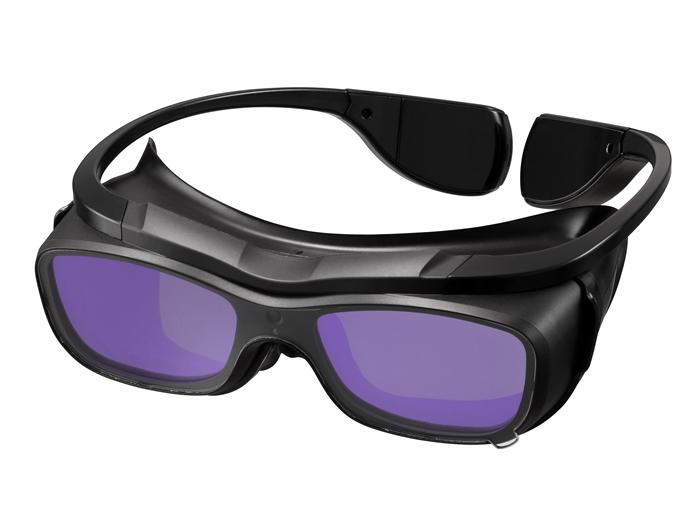 【直送品】 マイト工業 遮光メガネ ウェルディンググラス MR-01 【法人向け、個人宅配送不可】