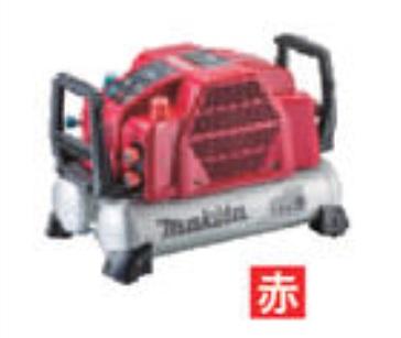 マキタ (makita) エアコンプレッサ(赤) AC462XLR (高圧・一般圧対応)