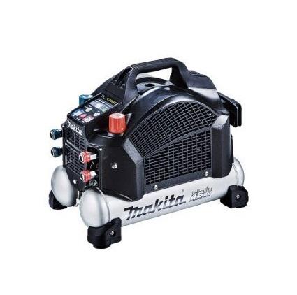 マキタ (makita) エアコンプレッサ(50/60Hz共用) AC462XSB (黒) (高圧・一般圧対応)