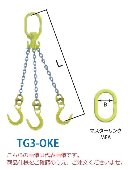 <title>安全性 省力化 利便性 を提供 直送品 マーテック チェーンスリング 3本吊りセット TG3-OKE 13mm 全長1.5m TG3-OKE-13-15 春の新作シューズ満載 大型</title>