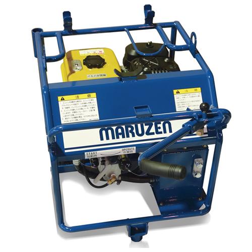 【直送品】 丸善工業 軽量コンパクト油圧ユニット U-070-1 【大型】