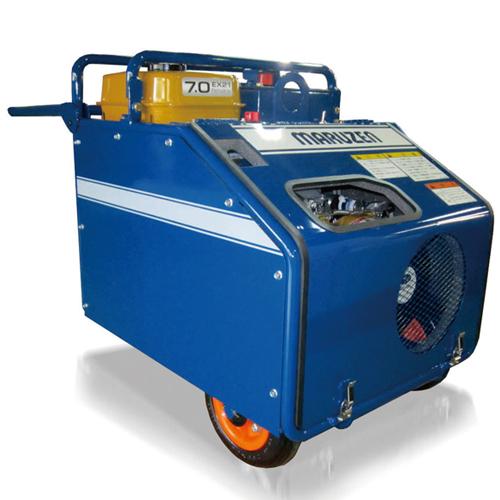 【直送品】 丸善工業 低騒音油圧ユニット U-070S 【大型】
