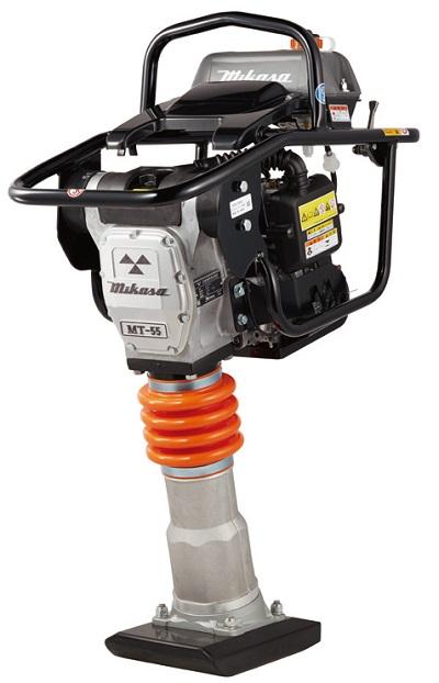 【直送品】 三笠産業 静音型タンピングランマー MT-55H-SS 【法人向け、個人宅・現場配送不可】 【大型】