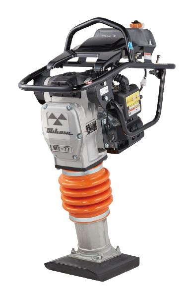 【直送品】 三笠産業 静音型タンピングランマー MT-77HRL-SS 【法人向け、個人宅・現場配送不可】 【大型】