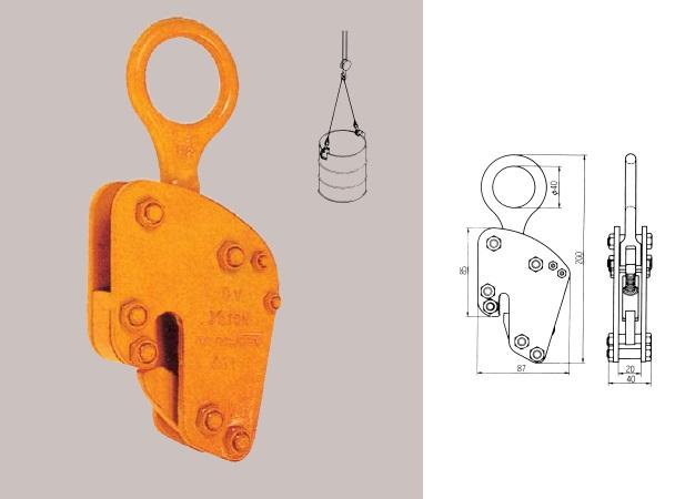 品多く ドラム缶クランプ DV型1/2TON (D2750):道具屋さん店 三木ネツレン-DIY・工具