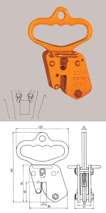 三木ネツレン ハンドクランプ H18型 (D2752)