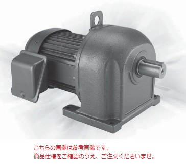 三菱 (MITSUBISHI) ギヤードモータ GM-DPF 0.75KW 1/5 200V (GM-DPF-750W-1-5)