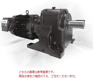 三菱 (MITSUBISHI) ギヤードモータ GM-LJPV 15KW 1/30 200V (GM-LJPV-15KW-1-30)