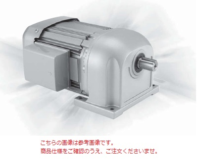 三菱 (MITSUBISHI) ギヤードモータ GM-SP 0.75KW 4P 1/20 200V (GM-SP-750W-1-20)