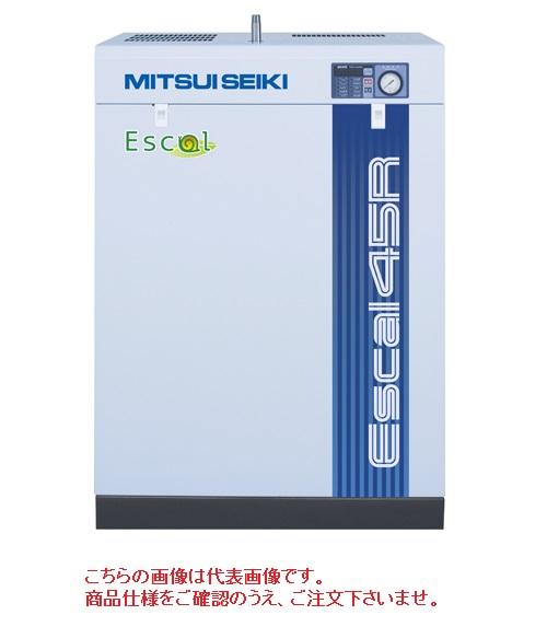 【代引不可】 三井精機 スクロールコンプレッサ(油潤滑式) ESCAL46A2R (60Hz)【特価】 【特大・送料別】