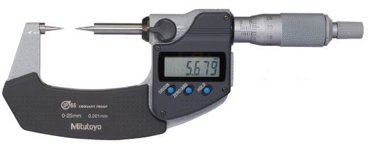 ミツトヨ (Mitutoyo) マイクロメーター CPM15-50MX (342-252-30) (デジマチックポイントマイクロメータ)