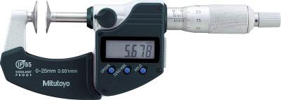 ミツトヨ (Mitutoyo) マイクロメーター GMA-100MX (323-253-30) (歯厚マイクロメータ・デジマチックタイプ)